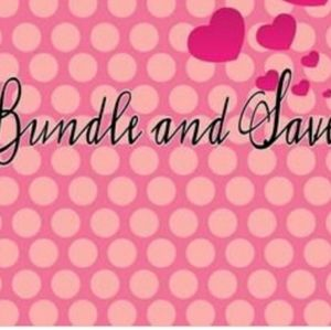 Bundle 2 or more items and receive 20% off!!
